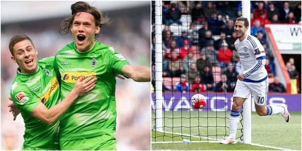 Belges à l'étranger: Thorgan Hazard à l'assist, Eden à nouveau buteur! (VIDEOS) - La Libre