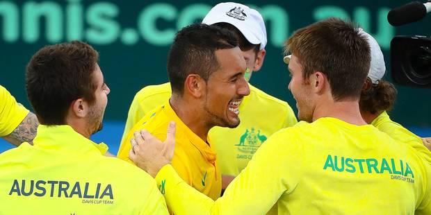 Coupe Davis: L'Australie attend les Belges en demi-finale - La Libre