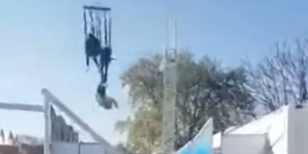 Une jeune fille frôle la mort sur une attraction de la Foire du Trône à Paris (VIDEO) - La Libre