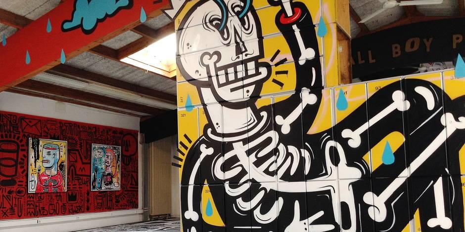 Joachim, street artiste en pleine lumière - La Libre