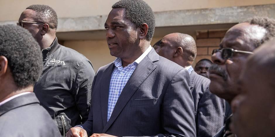 Zambie: en prison, le chef de l'opposition empêché de voir ses avocats