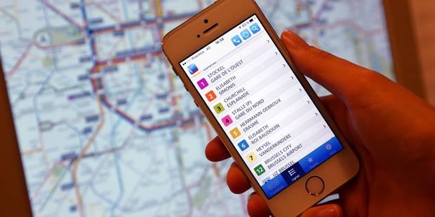Une station de métro STIB sur deux propose un wifi: Voici les dernières équipées (PLAN) - La Libre