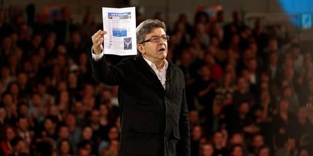 """Mélenchon: """"je n'ai pas l'intention de faire Cuba en France"""" - La Libre"""