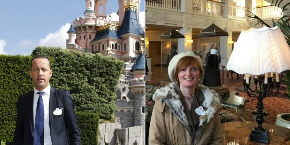 """130 Belges travaillent à Disneyland Paris: """"C'est magique. On est en interaction avec les visiteurs"""" - La Libre"""