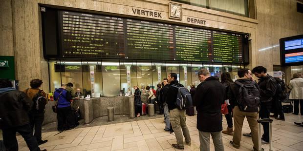 Incendie à Bruxelles-Central: la gare est rouverte - La Libre