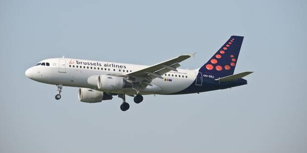 Un avion de Brussels Airlines retourne à Bruxelles en raison d'un problème technique - La Libre