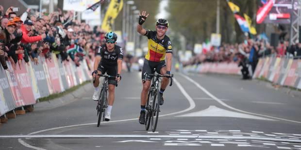 Blessé à l'Amstel, Philippe Gilbert renonce au Tour d'Italie - La Libre