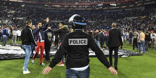 Europa League: Deux ans de sursis pour Lyon et Besiktas suite aux incidents - La Libre