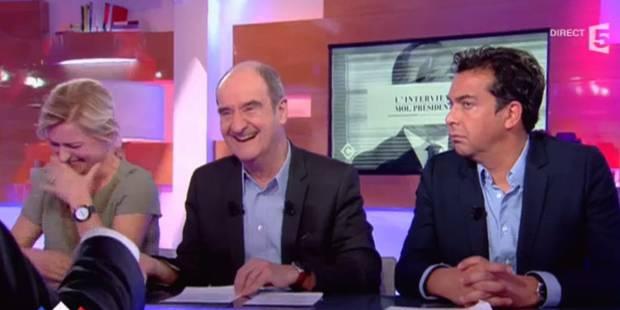 """Jean Lassalle provoque un fou rire d'Anne-Sophie Lapix en parlant d'""""histoires intimes"""" avec les ours (VIDEO) - La Libre"""