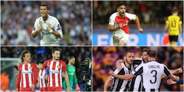 Derby madrilène en demi-finale de la Champions League ! - La Libre