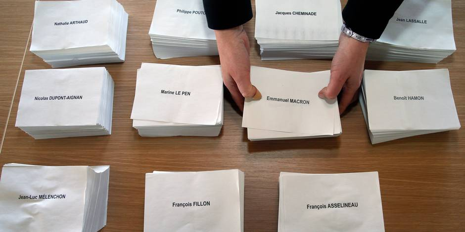 Présidentielle française: Record d'audience attendu pour les sites belges