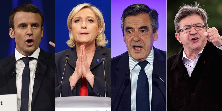 Présidentielle française : les enquêtes avant le premier tour