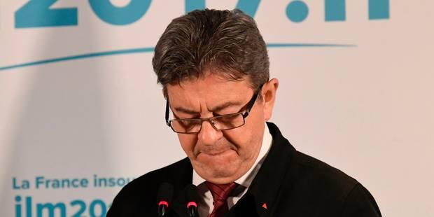 Mélenchon ne donne pas de consigne à ses électeurs, une réaction vivement critiquée - La Libre