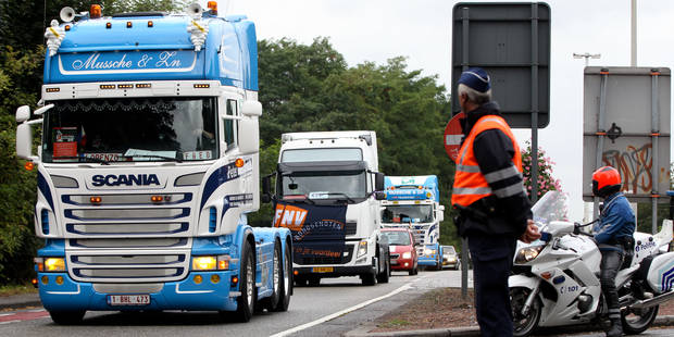 Le secteur du transport manifestera mercredi devant la Commission européenne - La Libre