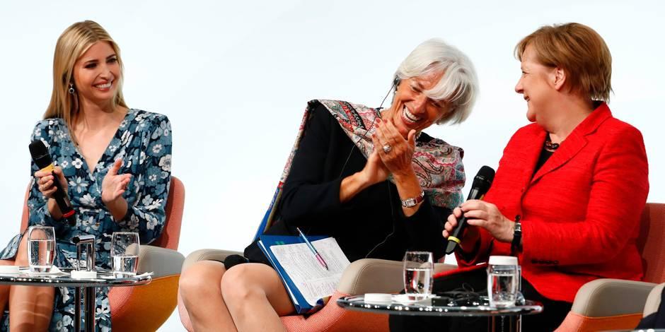 Ivanka, Maxima, Angela et Christine s'éclatent au G20 consacré aux femmes