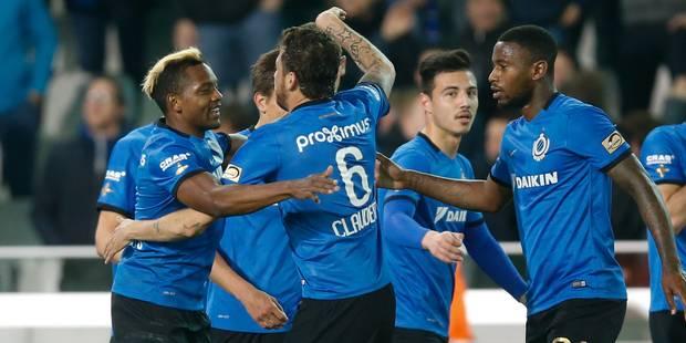 Le Club de Bruges bat Ostende et revient sur Gand, 2e (3-1) - La Libre