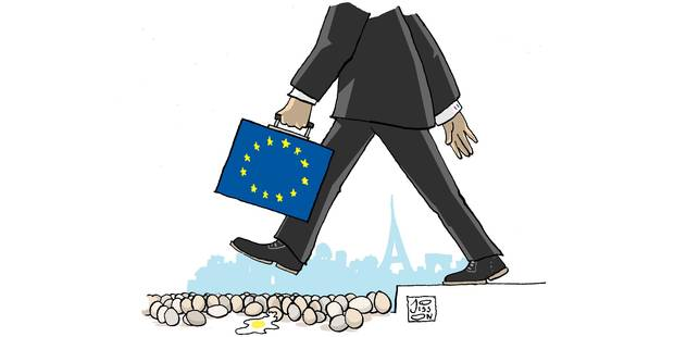 L'élection de Macron est aussi un pari pour l'Europe (OPINION) - La Libre