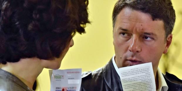 Italie: Renzi bien parti pour reprendre la tête du Parti démocrate - La Libre