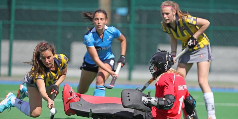 Hockey championnat dames: le Wellington échoue à 90 secondes près - La Libre