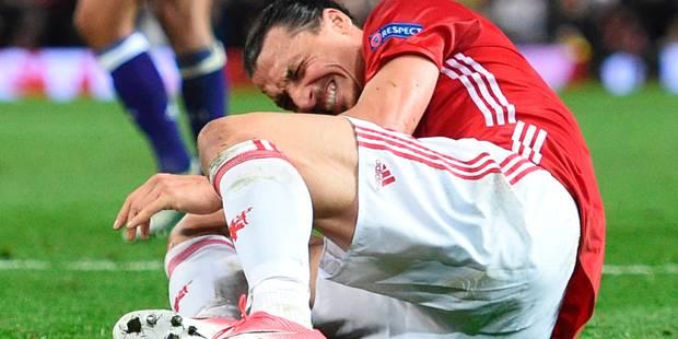 Zlatan opéré avec succès au genou - La Libre