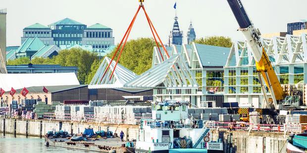 le Port de Bruxelles en pleine forme - La Libre