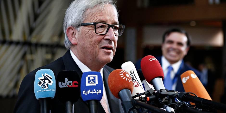 """Si Juncker s'exprime en français, c'est parce que """"l'anglais est en perte de vitesse en Europe""""…"""