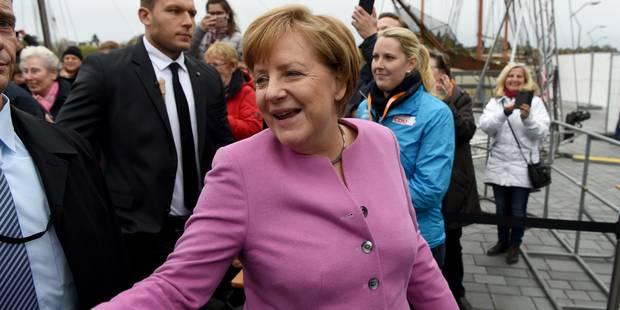 Allemagne: la CDU d'Angela Merkel remporte l'élection régionale - La Libre