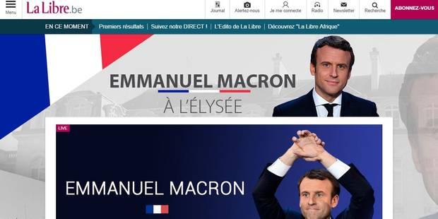 Second tour de la présidentielle : Des chiffres d'audience très satisfaisants pour LaLibre.be - La Libre