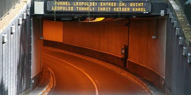 Mobilisation des taxis: les tunnels bruxellois à nouveau ouverts - La Libre
