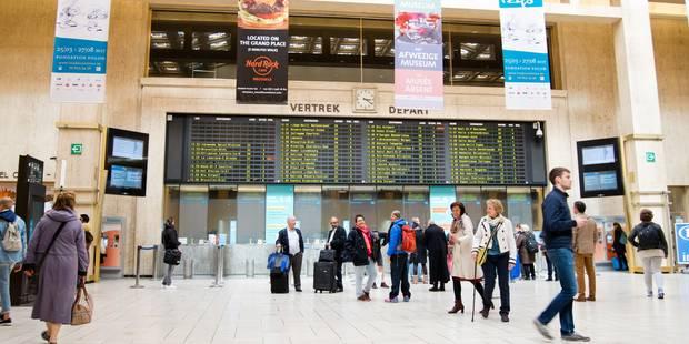 Trafic ferroviaire interrompu sur la jonction Namur-Bruxelles - La Libre