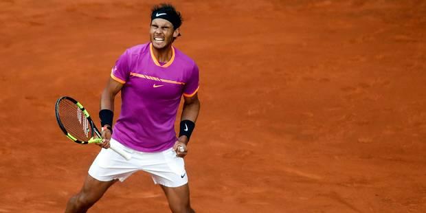 Madrid: Nadal et Djokovic bousculés mais qualifiés pour les 8e - La Libre