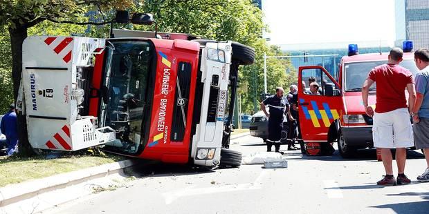 Bruxelles: Sept pompiers blessés chaque mois - La Libre