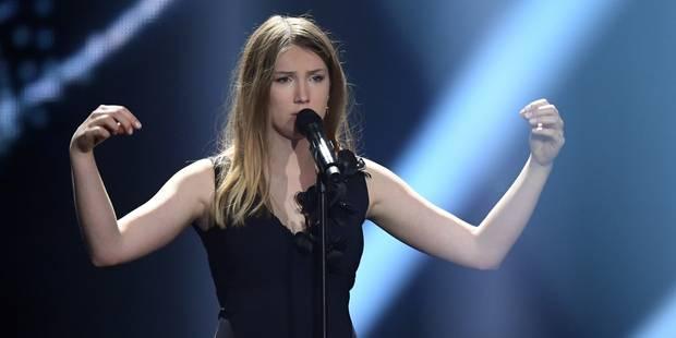 """Eurovision : Blanche, la candidate belge, est """"satisfaite et fière"""" - La Libre"""