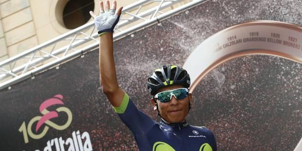 Giro: Quintana assume son statut et fait coup double - La Libre