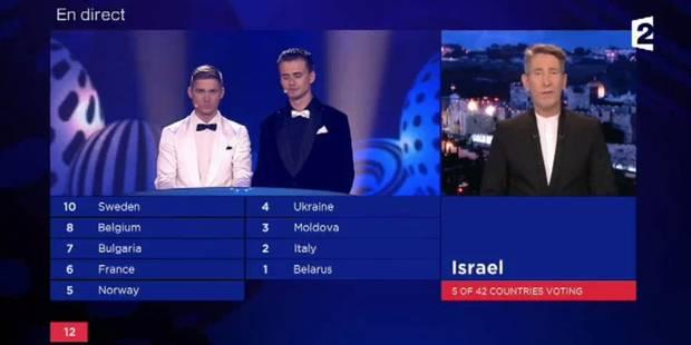 Eurovision: Israël annonce ses adieux, pour des raisons politiques (VIDEO) - La Libre