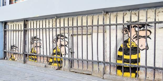 Le street art envahit les rues de la capitale - La Libre