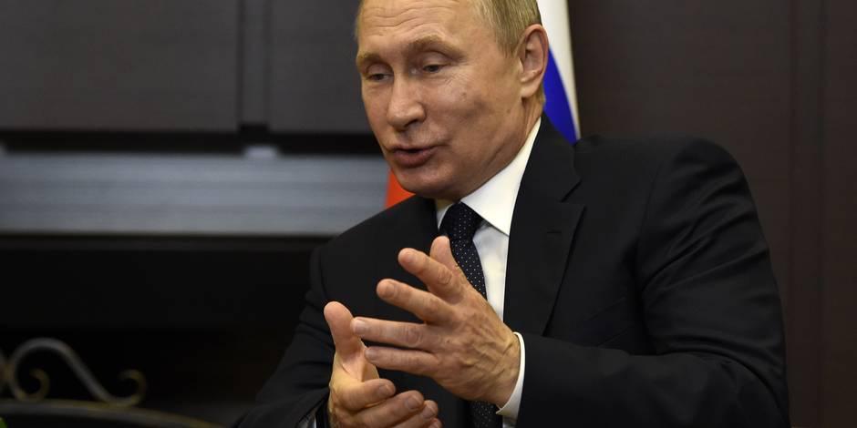 """Poutine """"prêt à fournir l'enregistrement"""" de la conversation Trump-Lavrov"""