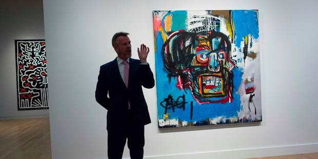 Record pour un tableau de Basquiat: Voici combien il a été vendu - La Libre