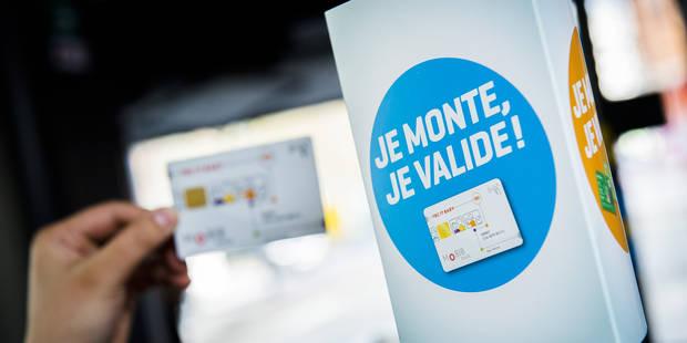 La carte bancaire pourra remplacer la Mobib dès 2019 - La Libre
