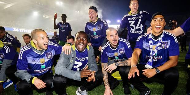 Prime de titre à Anderlecht: (minimum) 140.000 € ! - La Libre