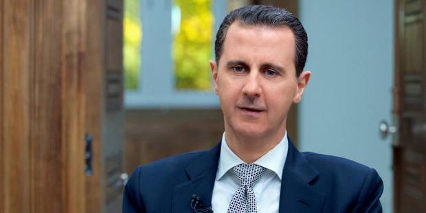 """Présidentielle en Iran: Assad promet de poursuivre la """"coopération"""" avec Rohani - La Libre"""