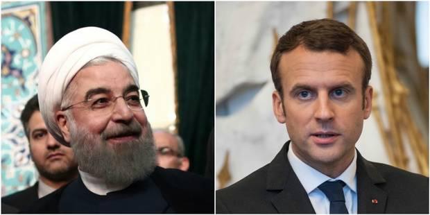 Rohani réélu en Iran : Paris vigilant sur l'application de l'accord sur le nucléaire - La Libre