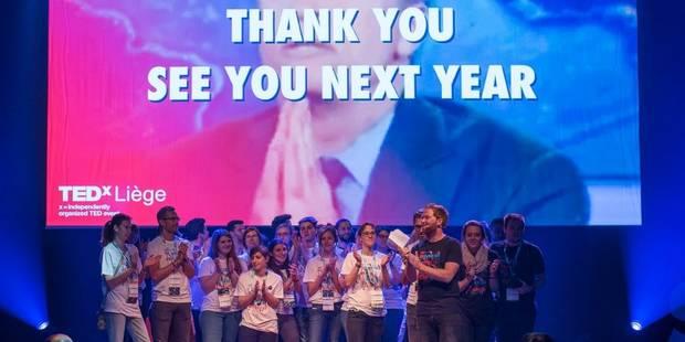 TEDx a fait salle comble à Liège - La Libre