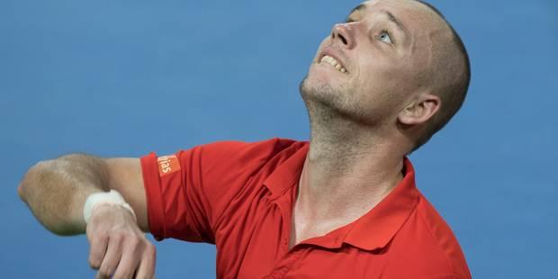 Steve Darcis enlève de haute lutte son 10e tournoi Challenger à Bordeaux - La Libre