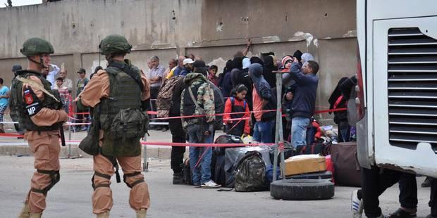 Syrie: le régime met la main sur la totalité de la ville de Homs - La Libre