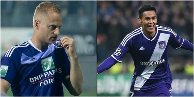 Olivier Deschacht et Andy Najar prolongent à Anderlecht - La Libre