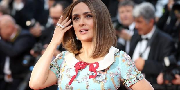 """Pour Salma Hayek, Hollywood voit les actrices comme des """"singes"""" - La Libre"""