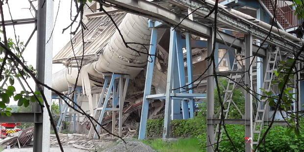 Effondrement à Obourg: le corps du travailleur porté disparu a été retrouvé - La Libre