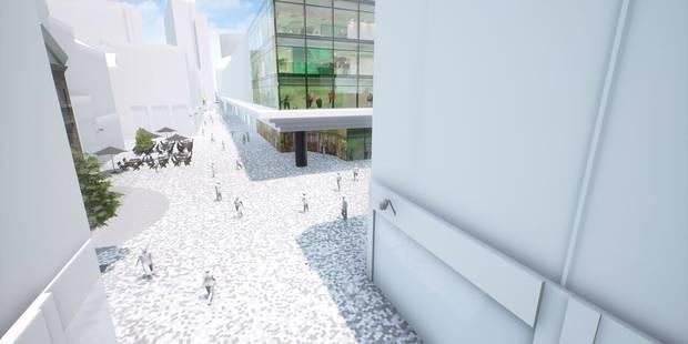 Bruxelles-Ville: deux ans de travaux pour la rue Neuve - La Libre