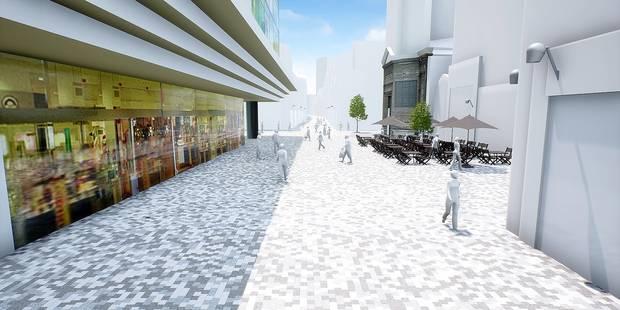 La rue Neuve se muera en quartier d'ici 2019 - La Libre